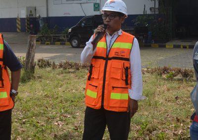 Sambutan Manager HSSEQ Pada Pelatihan Pemadam Kebakaran