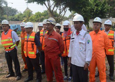 Peserta Pelatihan Pemadam Kebakaran