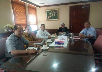 Pertemuan Dengan Pejabat OJK