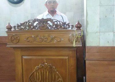 Sambutan Ketua DKM Masjid At-Taqwa