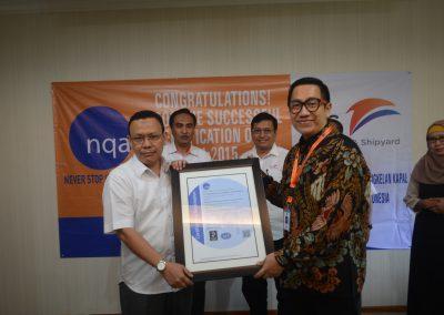 Penerimaan ISO 14001;2015