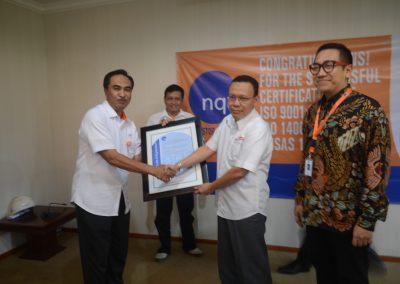 Penyerahan ISO 9001;2015