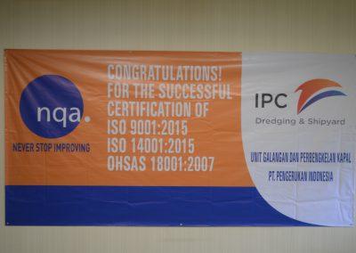 Penyerahan Sertifikat ISO dan OHSAS