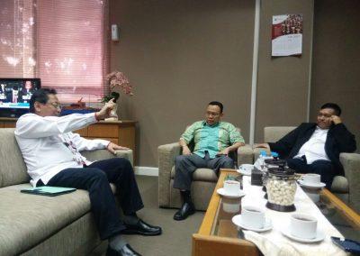 Pertemuan Direksi PT Rukindo dgn Pengembang PT Pelabuhan 1 di Medan