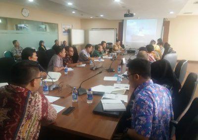 Rapat Dengan Asdep Deputi Jasa Keuangan dan Konsultan BUMN