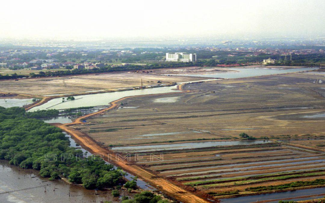 Reklamasi, transportasi hasil keruk, pengadaan/pengembangan lahan dan bangunan