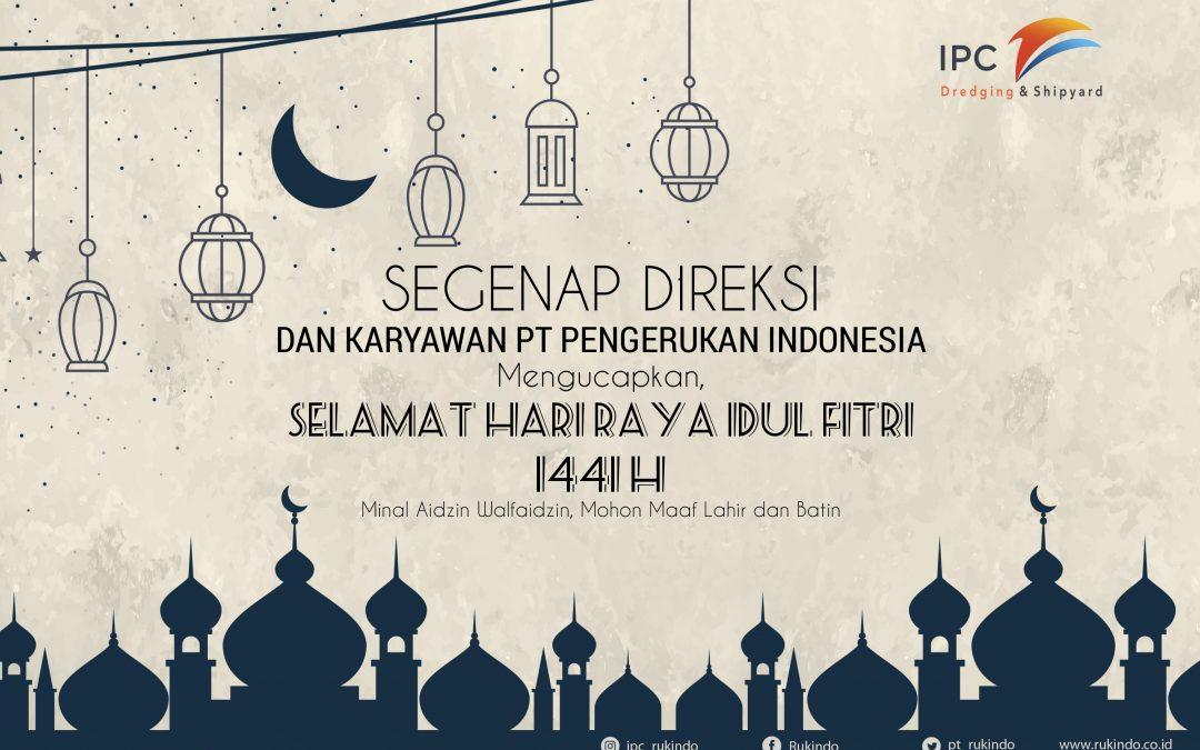 Segenap Direksi dan Karyawan PT Pengerukan Indonesia Mengucapkan Selamat Hari Raya Idul FItri 1441 H