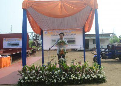 Sambutan Pimpinan PT Marunda Jaya