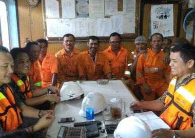 Silaturahim crew KKC POSO dan KKC Batur di Kapal KKC POSO