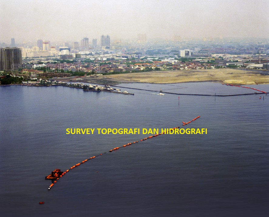 Research (hydrography, topographic survey and soil investigation) and supervision services